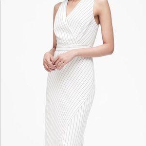 Dress with stripes